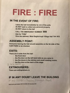 On Tour: Don't leave artists alone with safety notices